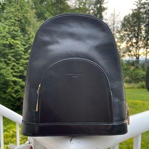 Georgie Valentino Italy Black mini Backpack bag